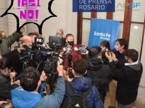 Por conferencias de prensa sin riesgo de contagio