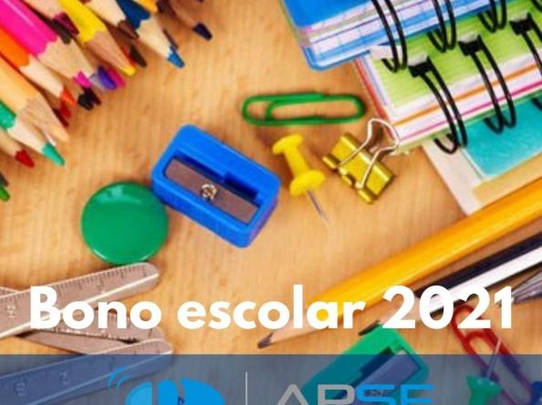 Bono escolar 2021